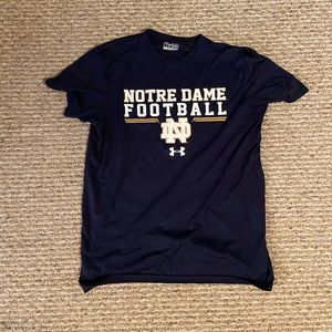 Notre Dame Football Under Armor Tee